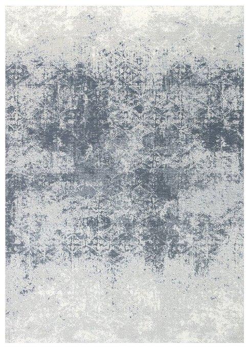 Ковер Illusion серо-синего цвета 160х230