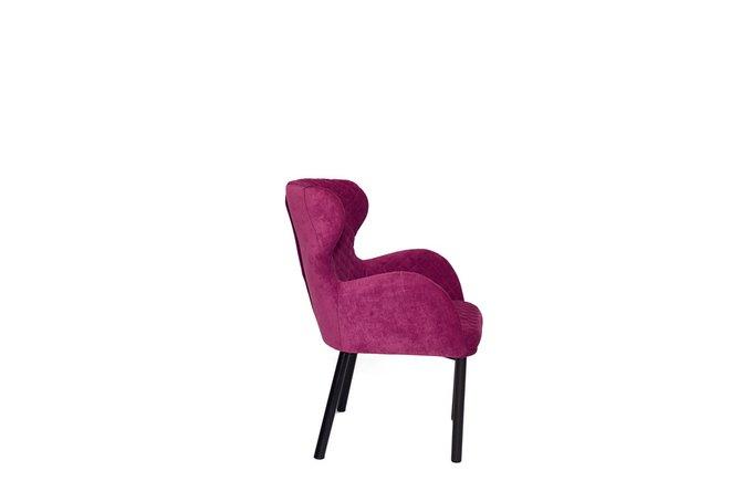 Дизайнерское кресло Nicoletta бордового цвета