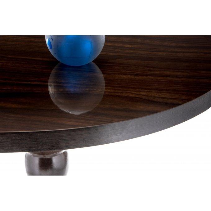 Обеденный стол Вилмар с глянцевой столешницей
