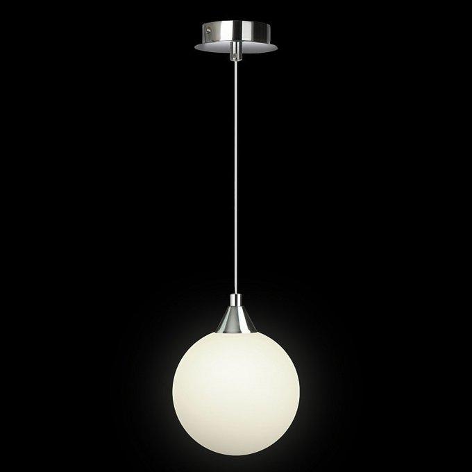 Подвесной светильник с белым плафоном