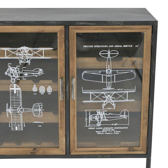 Комод с выдвижным ящиком и дверцами