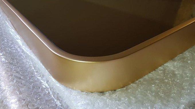 Прямоугольное интерьерное зеркало Мinimo arrotondato в декоративной раме