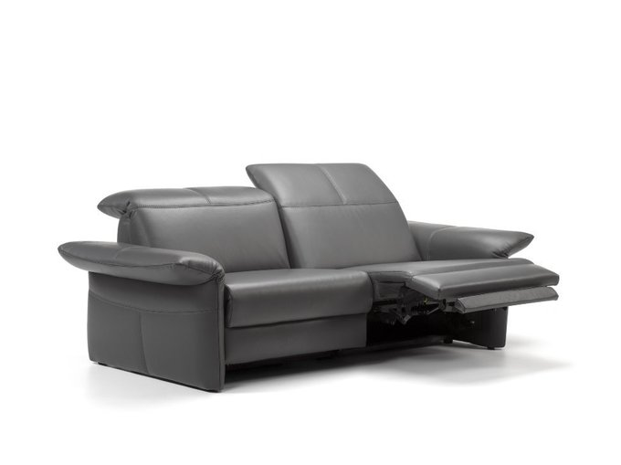 Диван-кровать Zelos черного цвета