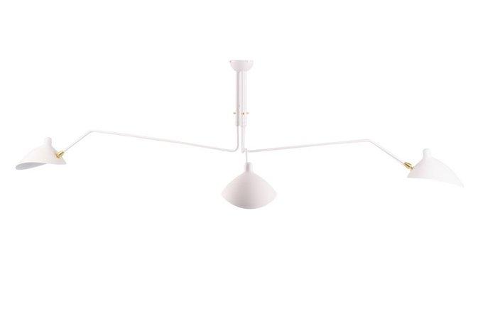 Потолочная люстра Turin Small White Pendant из металла