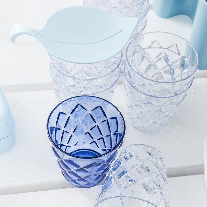 Стакан Crystal s голубого цвета