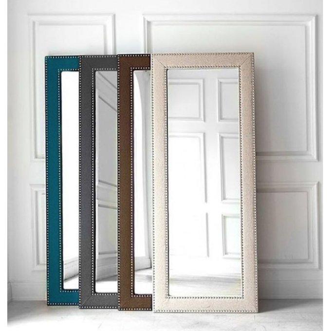 Напольное зеркало Фокстрот бежевого цвета