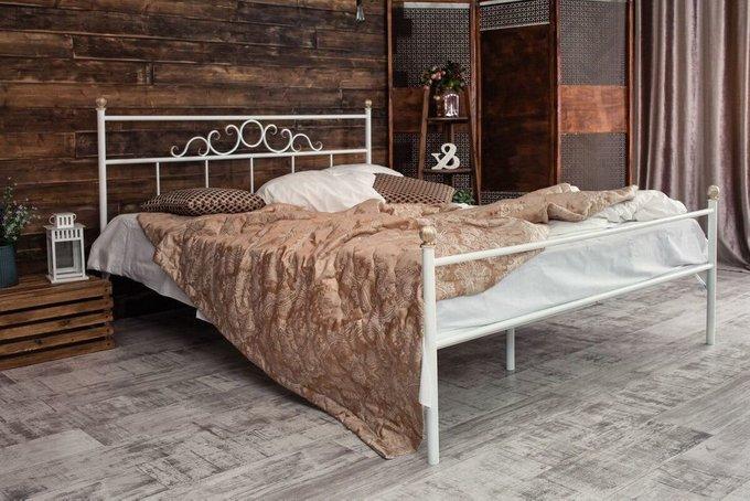 Кованая кровать Сандра 1.8 с одной спинкой 180х200