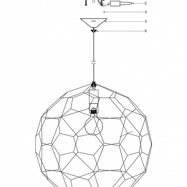 """Подвесной светильник """"Etch Web"""""""