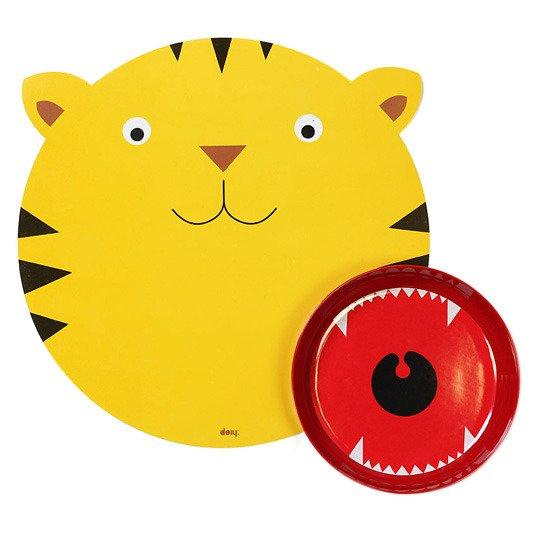 Детский обеденный набор 'Hungry Tiger'