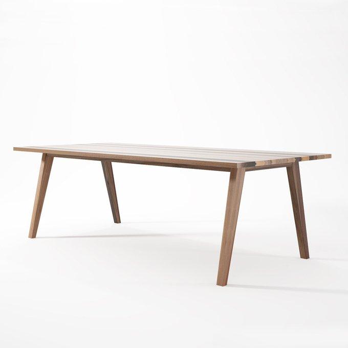 Стол обеденный Karpenter Carlton из натурального дерева