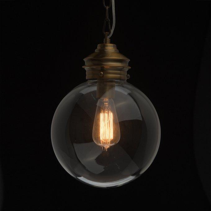 Подвесной светильник Кьянти с прозрачным плафоном