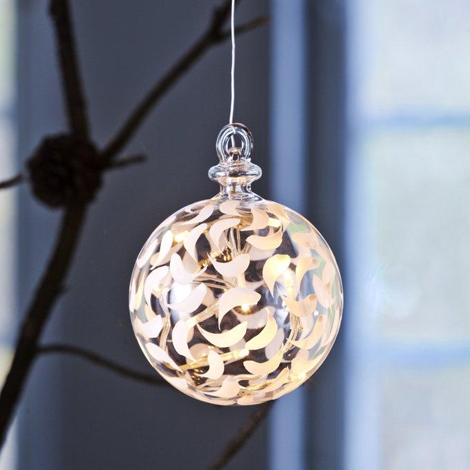 Светодиодная новогодняя игрушка Drops Ball
