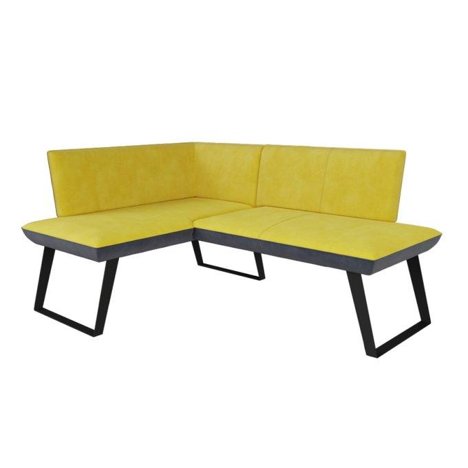Мягкая зона Cosmo серо-желтого цвета