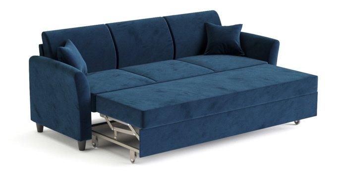 Диван-кровать Катарина темно-синего цвета