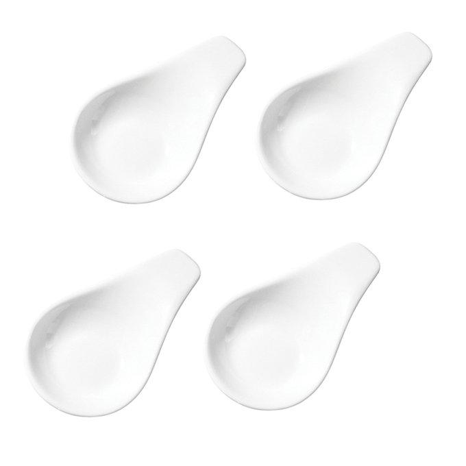 Набор из четырех креманок Сonvivio белого цвета