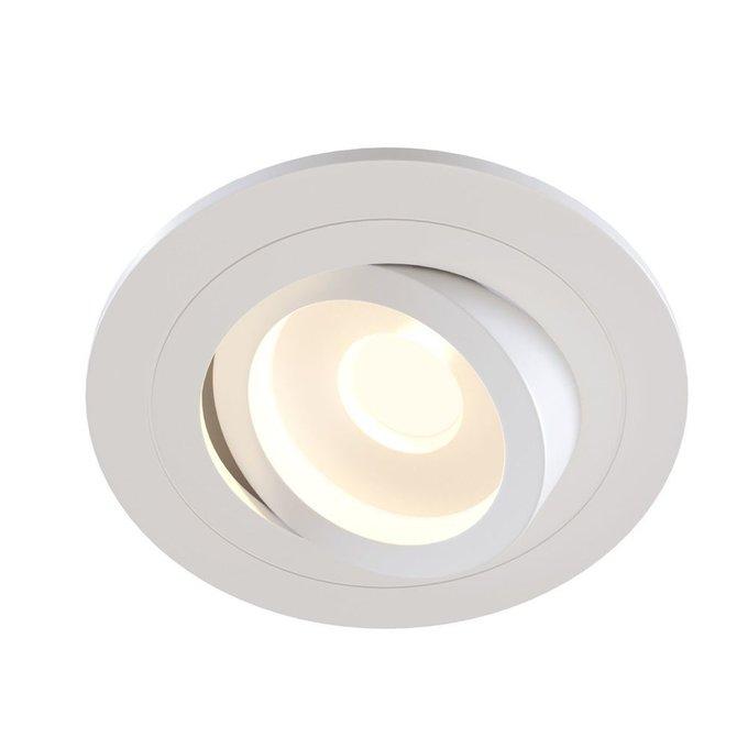 Встраиваемый светильник Atom белого цвета