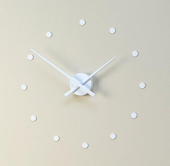 Настенные часы OJ White белого цвета