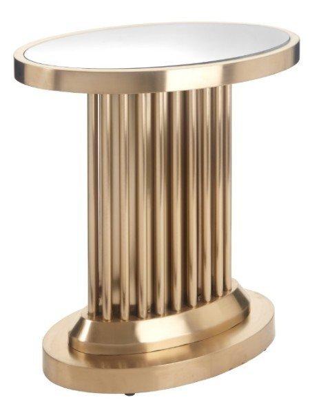 Приставной столик Barnes золотого цвета