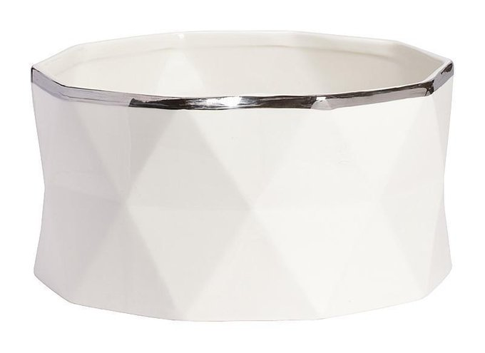 Декоративная ваза Allure Silver Big