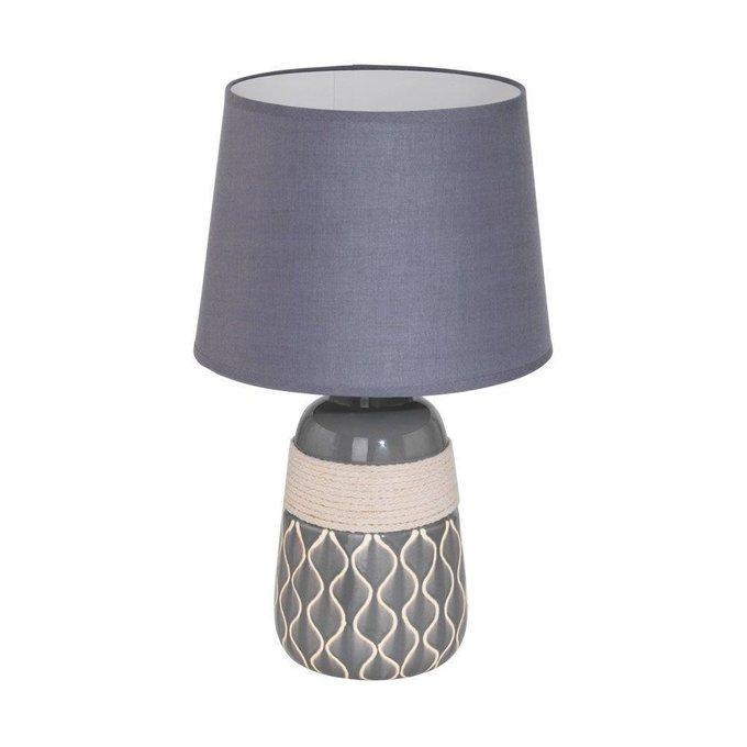 Настольная лампа Bellariva с серым абажуром