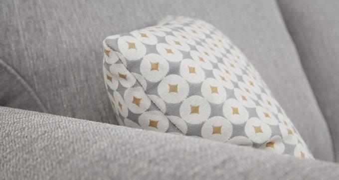 Трехместный раскладной диван Angelic серый