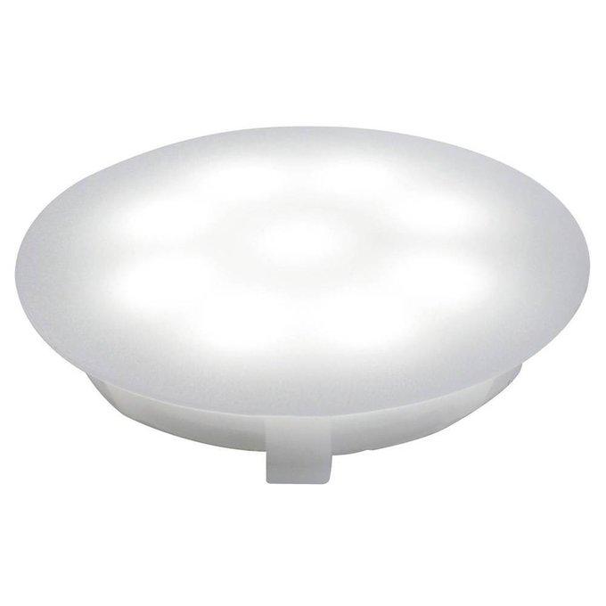 Ландшафтный светодиодный светильник UpDownlight из пластика белого цвета
