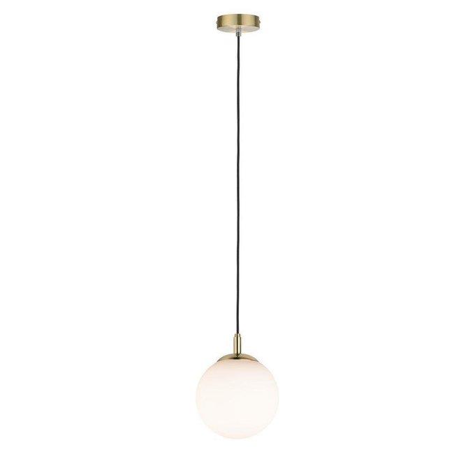 Подвесной светильник Menja с белым плафоном