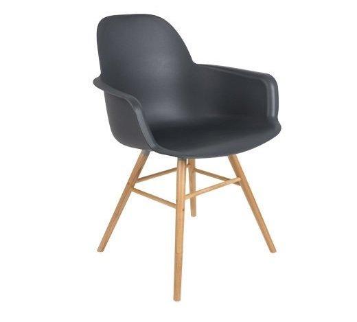 Кресло Albert Kuip темно-серого цвета