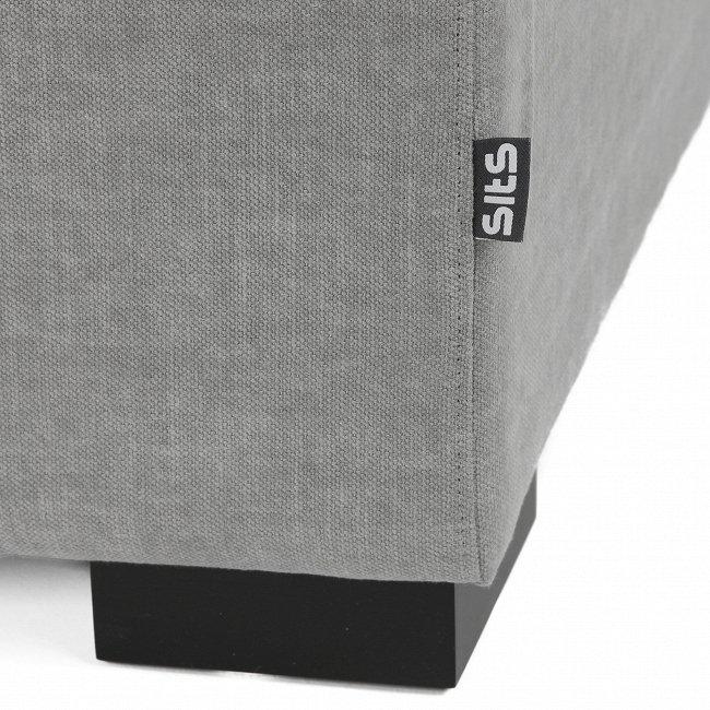 Кресло-кровать Lukas серого цвета