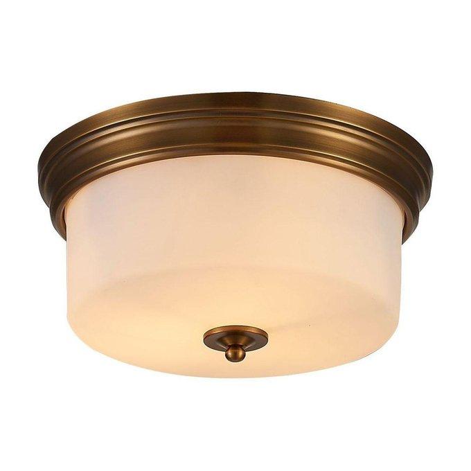 Потолочный светильник с белым плафоном