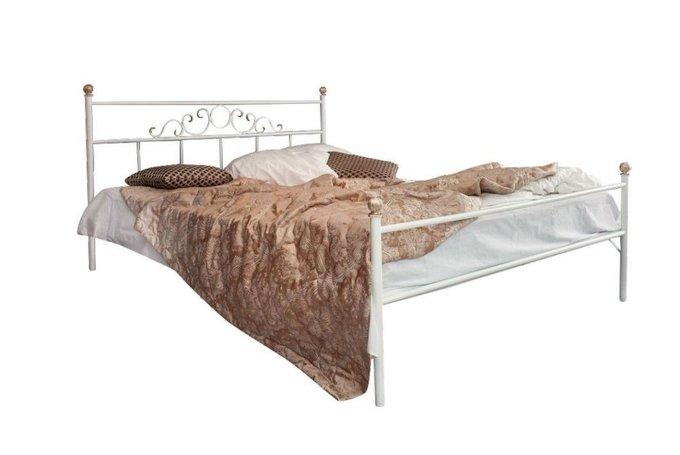 Кованая кровать Сандра 1.6 с одной спинкой 160х200