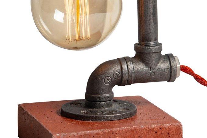 Настольный светильник в стиле лофт Concrete на бетонном основании