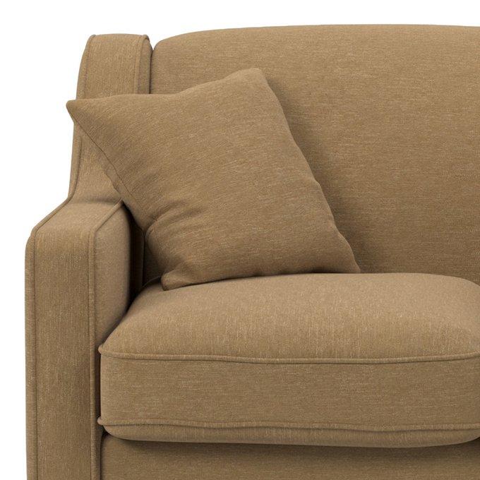Диван двухместный Halston ST коричневого цвета