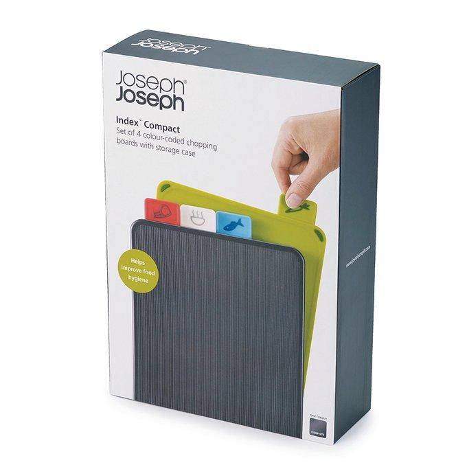 Набор разделочных досок Joseph Joseph index compact графит