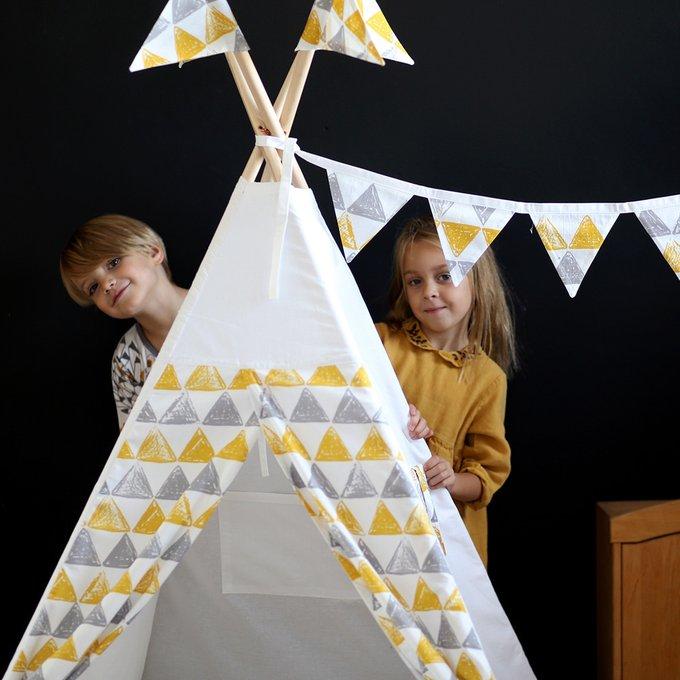 Вигвам для детей Triangles большой
