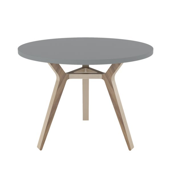 Стол Unika Täby gray 90 орех