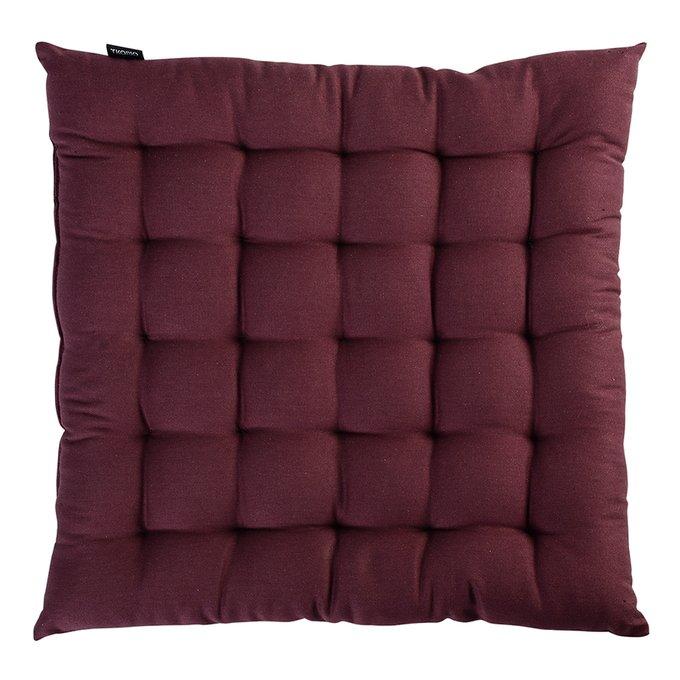 Подушка на стул Wild бордового цвета
