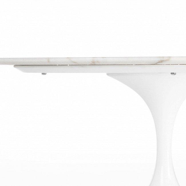 """Кофейный стол """"Tulip"""" с мраморной столешницей"""