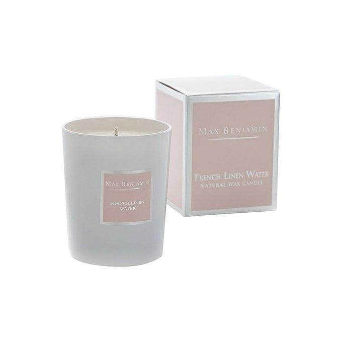 Ароматическая свеча в стакане French Linen Water