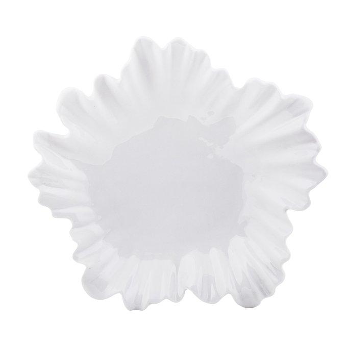 Настенный декор цветок Lily белого цвета