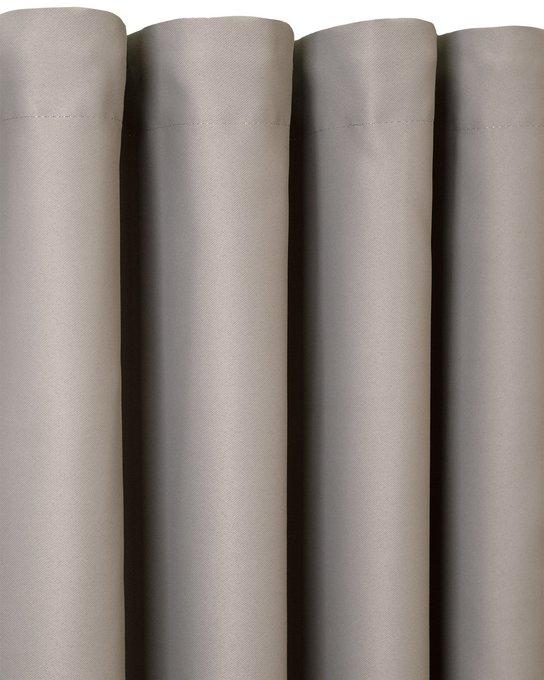 Штора блэкаут Grey с подхватом Delphi