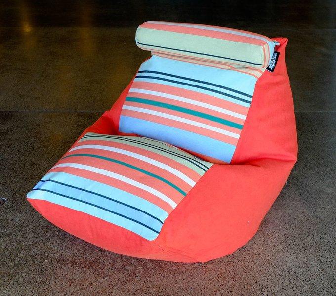 Кресло-мешок Трапеция с подголовником Каникулы