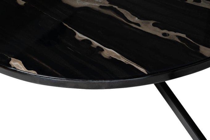 Журнальный стол с мраморной полкой