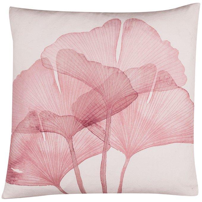 Декоративная подушка Ginko с цветочным принтом
