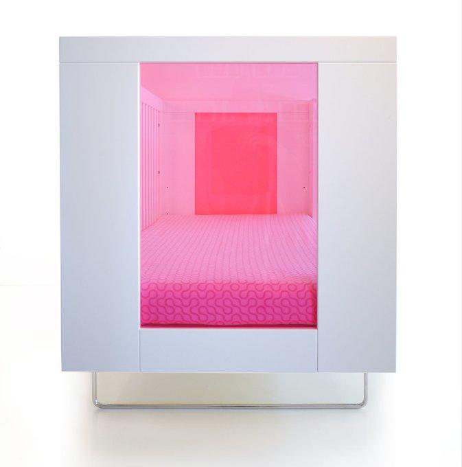 кроватка Alto Honeysuckle Translucent Acrylic Spot On Square