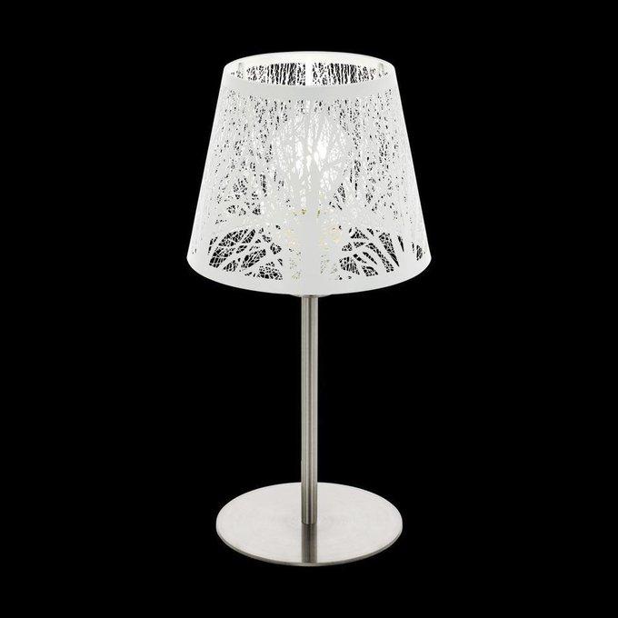 Настольная лампа Hambleton с белым абажуром