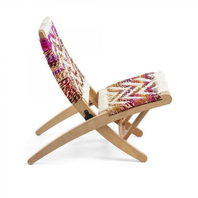 Кресло Heane из массива дерева манго