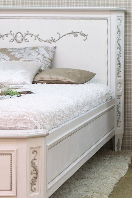 """Кровать """"Будуар"""" из массива бука 180х200 см"""