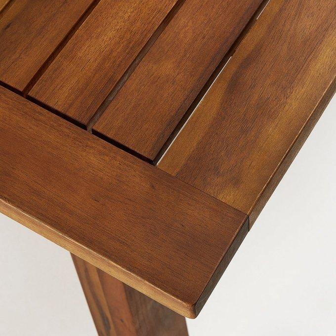 Обеденный стол Hemming из массива дерева акация