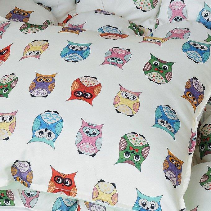 Чехол для подушки Funky Owl из хлопка